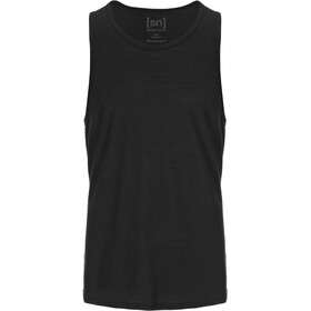 super.natural Base 140 Tank Men jet black